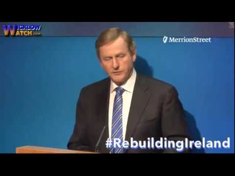 #RebuildingIreland Govt Press Conference on Housing Homeless Crisis plan