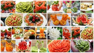 Super Salad decoration tutorial - 20 Easy Ideas Food Art