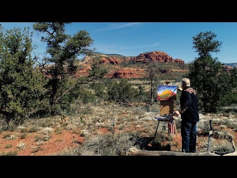 Tim Yanke Paints The Southwest