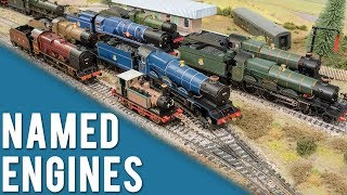 Sam's Steam Trains With Names