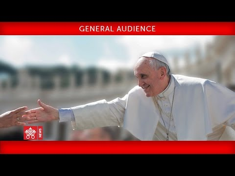Pope Francis General Audience 2017-03-21
