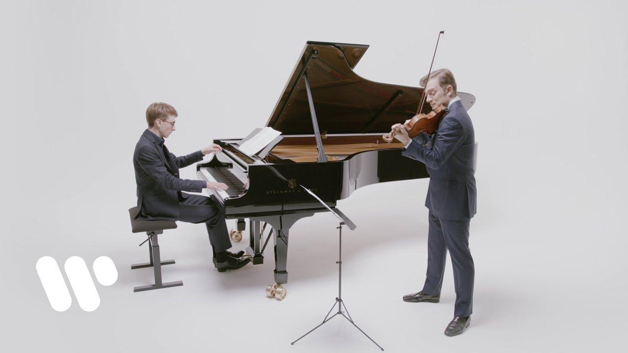 Renaud Capuçon plays Arvo Pärt: Spiegel im Spiegel (with pianist Guillaume Bellom)