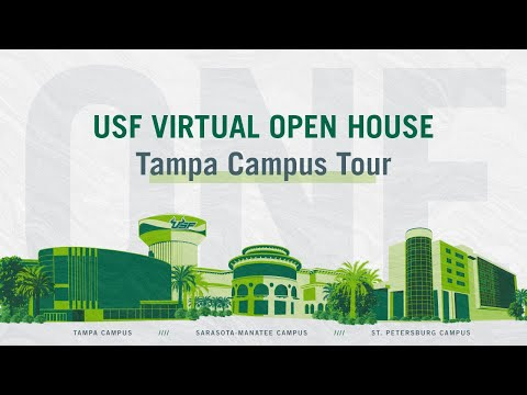USF Virtual Open House   Tampa Campus Tour   University Of South Florida