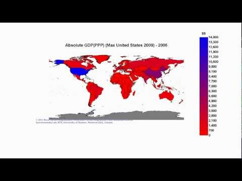 Absolute GDP(PPP) (Max United States 2009)