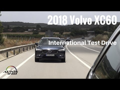 2018 Volvo XC60 1st. drive in Barcelona with The Fast Lane Car´s Andrey Smirnov