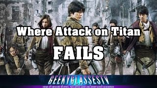 Attack on Titan Movie Review | GGTV REVIEWS