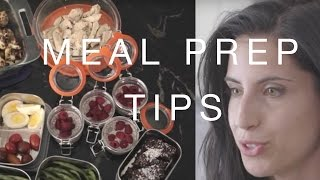 MEAL PREP » Top tips for beginners