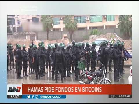 Hamas pide fondos en Bitcoins