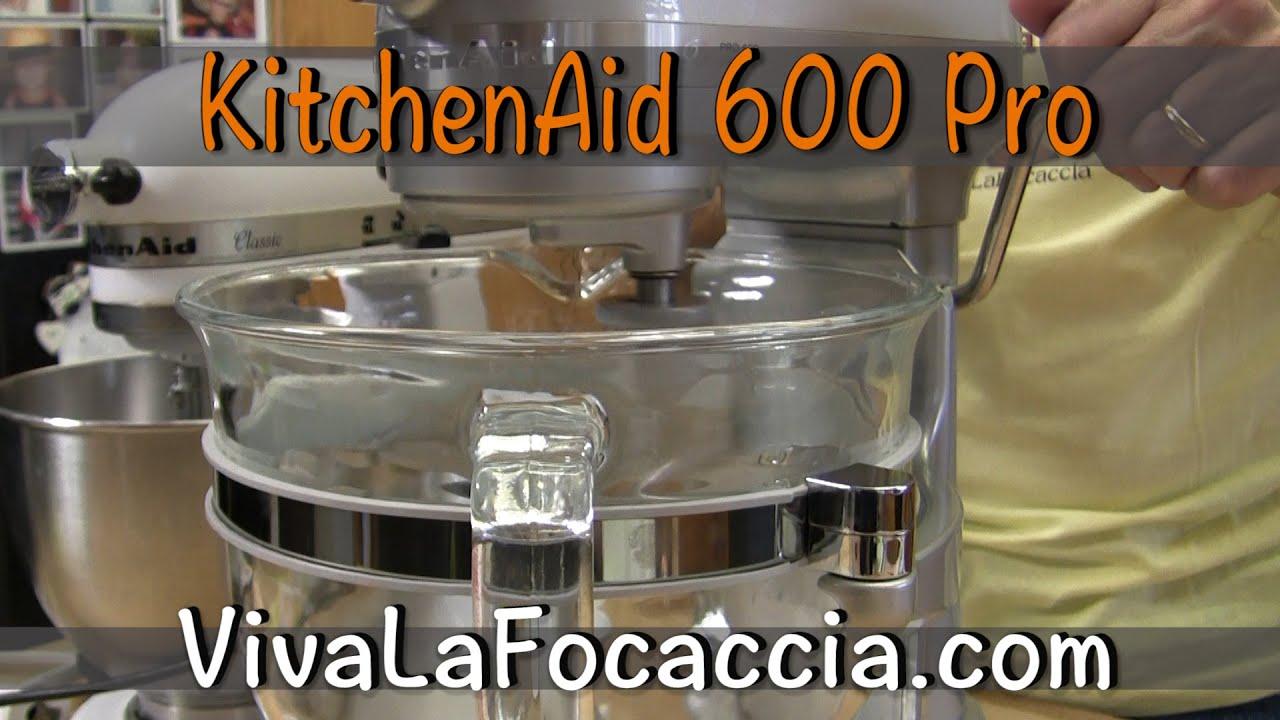 Unboxing della KitchenAid Pro 600 - YouTube