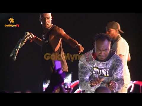 SLIMCASE'S PERFORMANCE AT AFRO BEACH RAVE PARTY