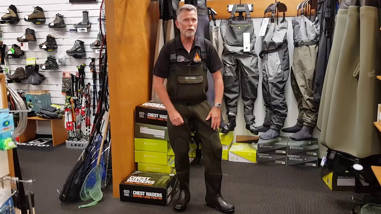 Outdoor Outfitters Waders Review Youtube