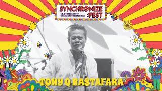 Tony Q Rastafara LIVE @ Synchronize Fest 2019