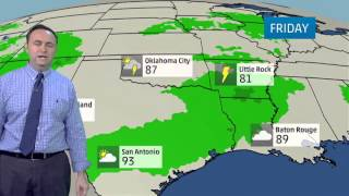 Austin's Weather Forecast for July 30, 2014