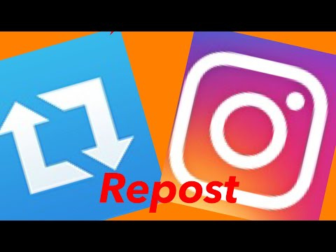 How To Repost Pictures And Videos To Instagram.
