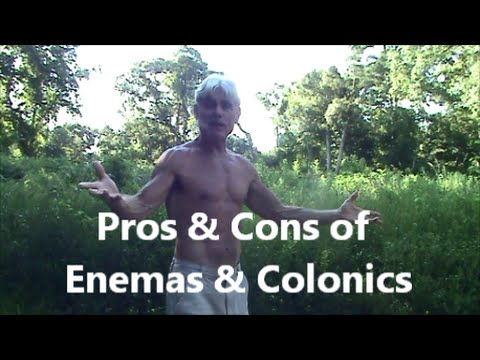 The Pros & Cons of Enemas & Colonics