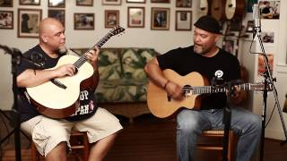 "Brothers Rize ""Black Magic Woman"" Acoustic Guitar Jam at Pono"
