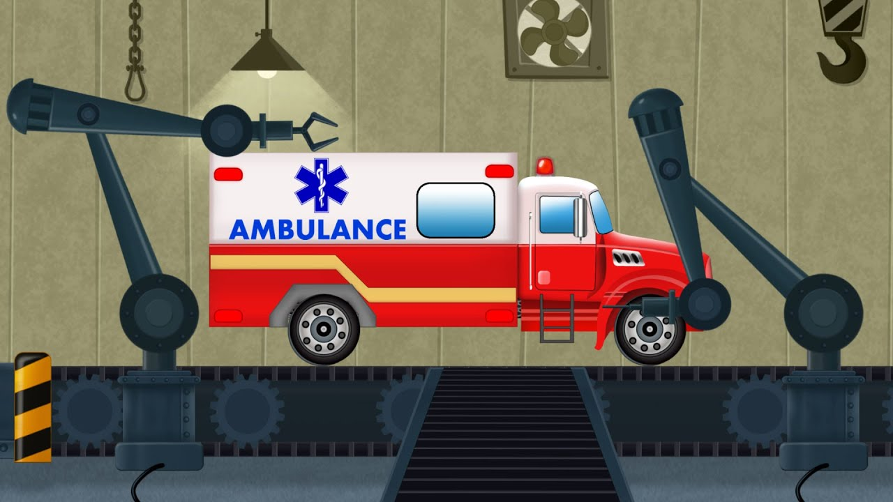 Toy Factory | Ambulance | Car Garage And Service