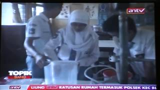 Berita Topik Siang Antv Bioetanol Urine Manusia (KIR SMA Negeri 1 Bawang)