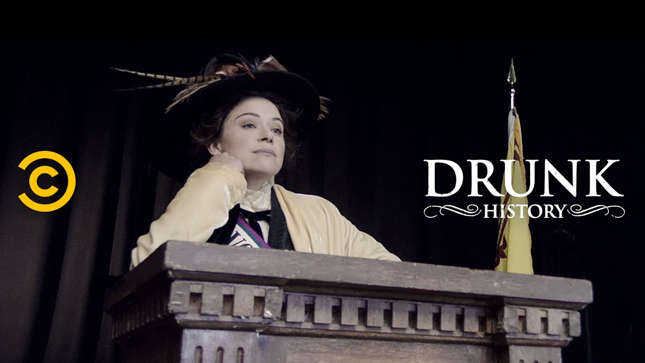 "Suffragettes Learn to Fight with ""Suffrajitsu"" (feat. Tatiana Maslany) - Drunk History"