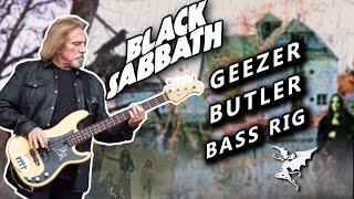 Geezer Butler Bass Rig  - Black Sabbath