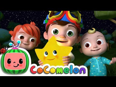 Twinkle Twinkle Little Star | ABCkidTV Nursery Rhymes & Kids Songs