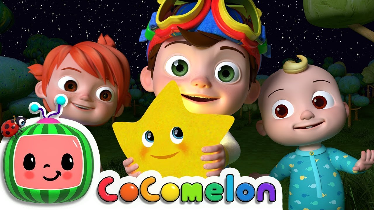 Twinkle Twinkle Little Star | CoCoMelon Nursery Rhymes & Kids Songs