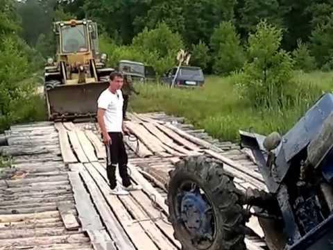деревенские трактористы