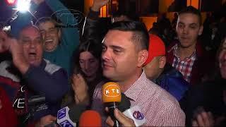 Прослава на победата на Митко Јанчев и ВМРО ДПМНЕ во Кавадарци