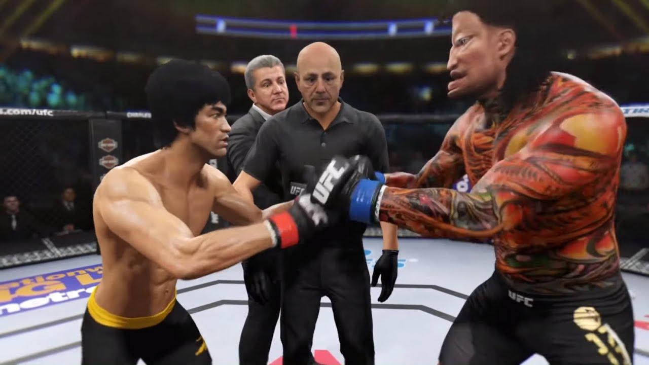 Bruce Lee vs. Kamikaze (EA Sports UFC 2)