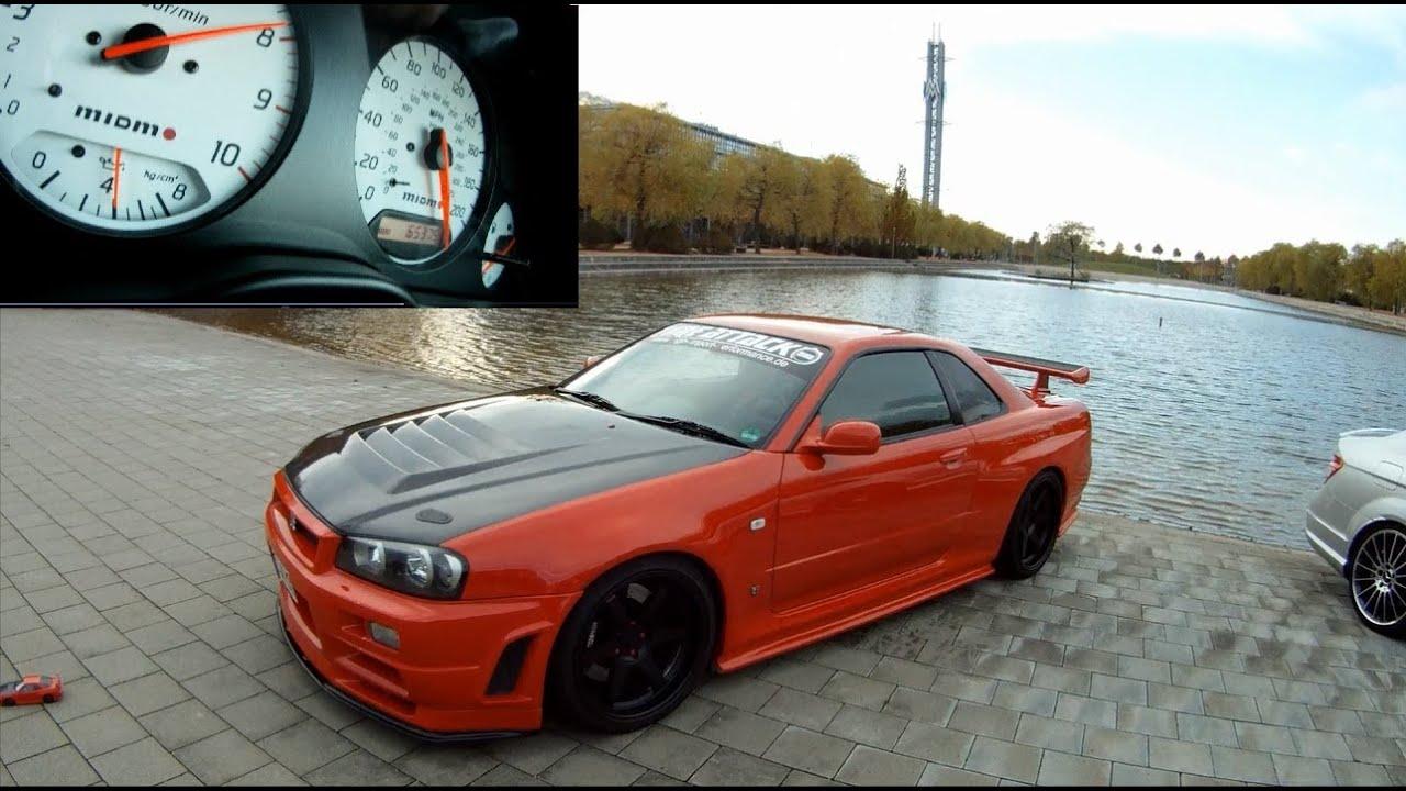 Nissan Skyline R34 Gtr Vspec Godzilla Is Still Alive