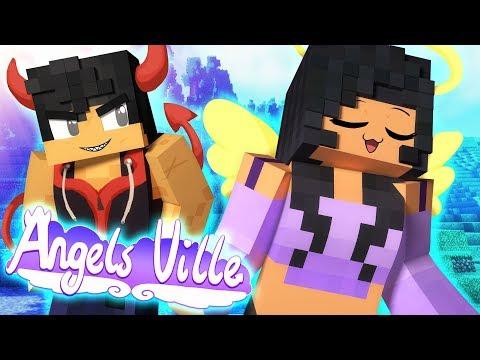 Angel With A Shotgun | Angelsville Minecraft Survival [Ep.4]