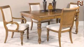 Grand Isle Rectangle Leg Table 079-760 By American Drew