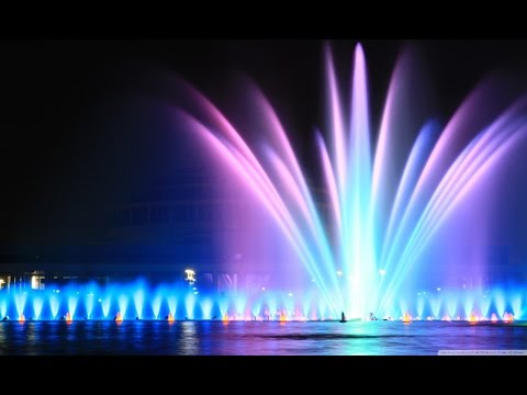 Belgaum karnataka lake fountain video