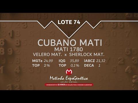 LOTE 74 MATINHA EXPOGENÉTICA 2021