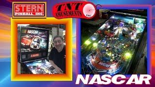 #1120 Stern NASCAR Pinball Machine & 13 Foot SKEEBALL - TNT Amusements