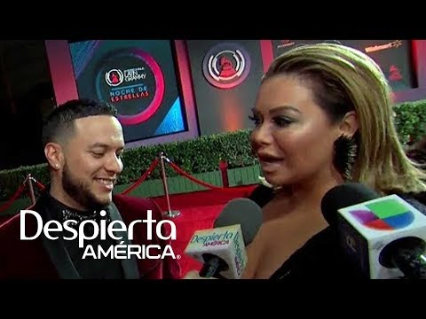 Lorenzo Méndez no dejaba de ver el escote de su novia Chiquis Rivera
