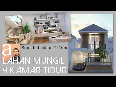 Rumah lahan 7x10m dengan 4 kamar tidur [kode 065]