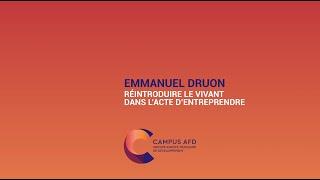 Des nouvelles de Demain : Emmanuel Druon