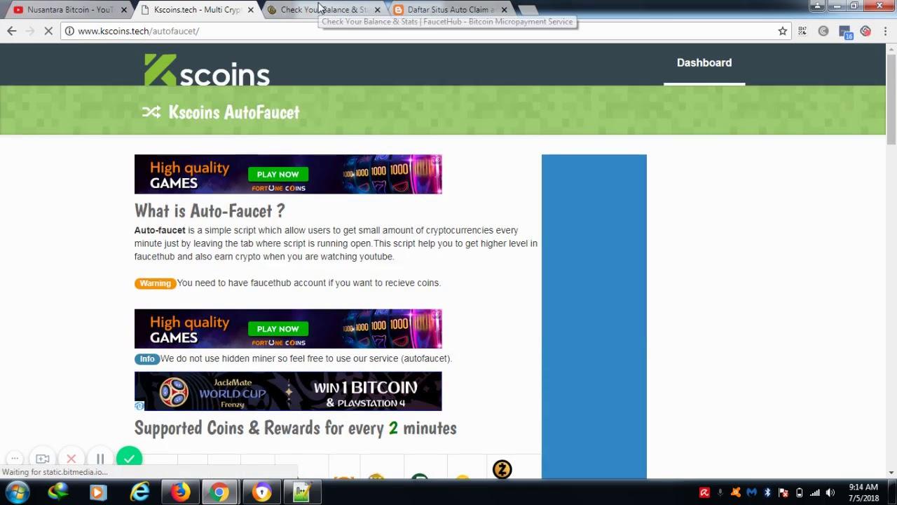 Auto Claim Bitcoin Cash | Claim Bitcoin Cash Per Menit Tanpa Batas Langsung  Payout | Kscoins tech