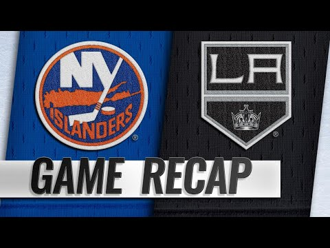 Islanders erupt for seven goals in rout of Kings