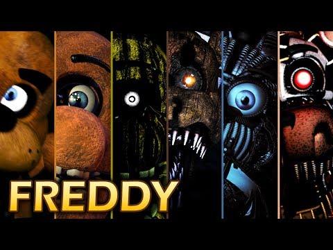 Evolution of Freddy Behavior in FNAF (2014-2017)