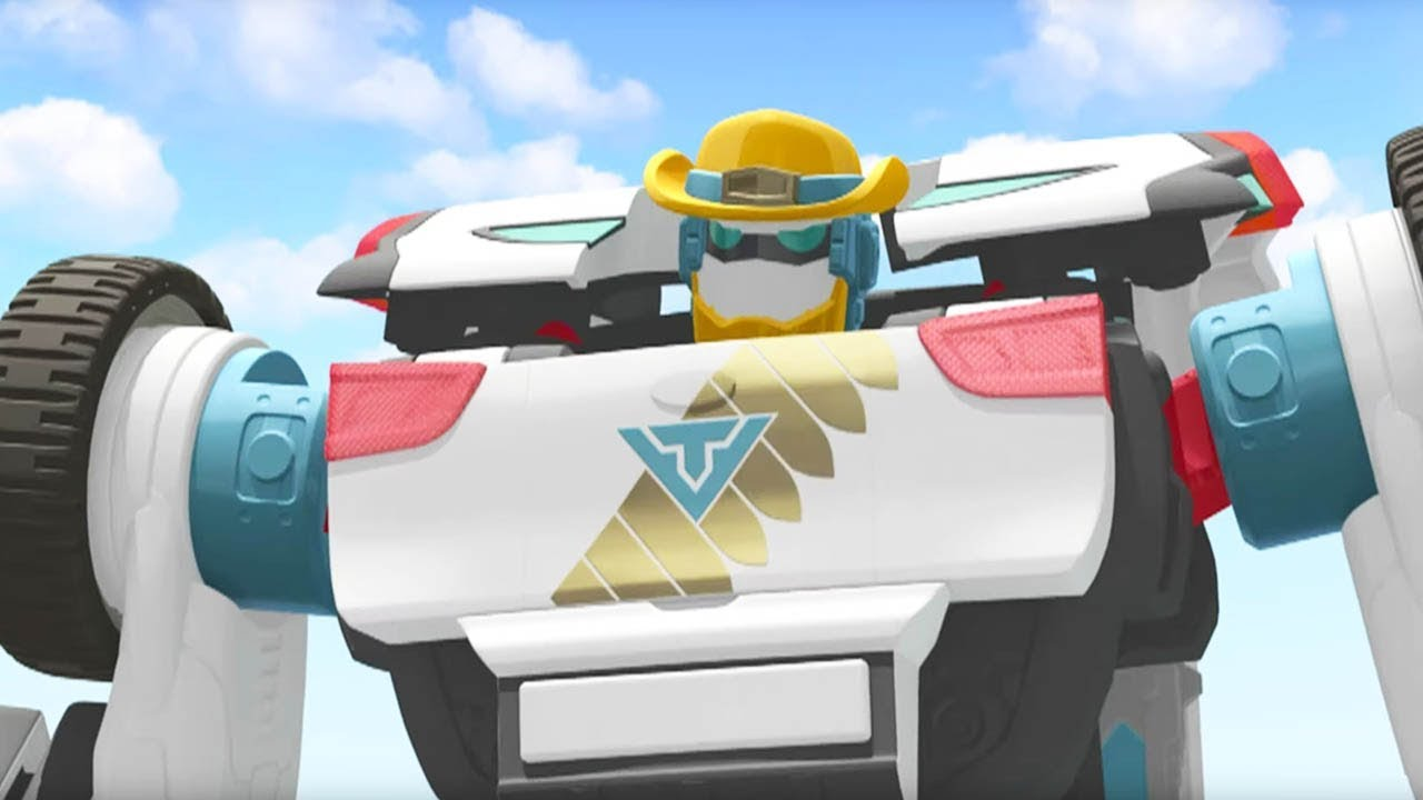 TOBOT Athlon English | 301B - Wild on Wheels | Season 3 Full Episode | Kids Cartoon