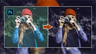 False Color | Photoshop Tutorial (Color Grading Photoshop )