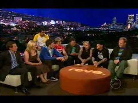 Good Charlotte on Rove Live : Interview