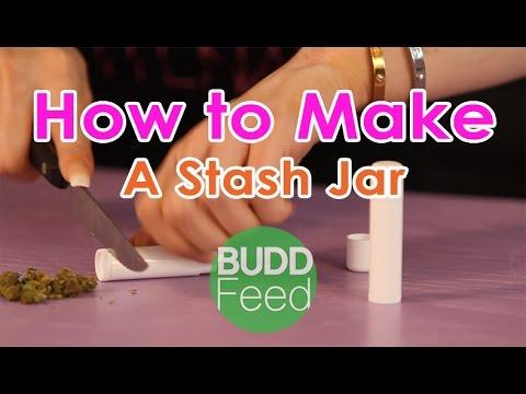 How to Make a Stash Jar