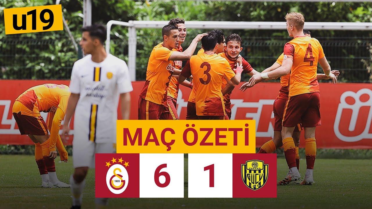 Özet   Galatasaray 6 - 1 MKE Ankaragücü   U19 Elit Gelişim Ligi