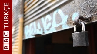 İstiklal Caddesi'nin bir bir kapanan dükkânları - BBC TÜRKÇE