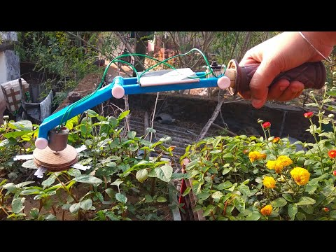 || How To Make A Mini Powerful Grass Cutter DIY At Home ||