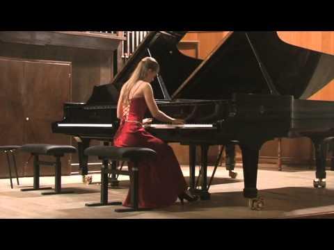 S.Prokofiev Piano sonata №2 op.14, (1-2) Varvara Tarasova (piano)