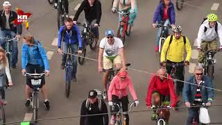 Традиционный осенний велопарад прошёл в Москве